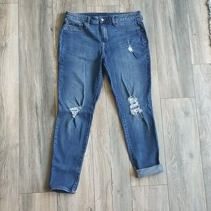 Faded Glory Stretch Skinny Jeans, Size 12